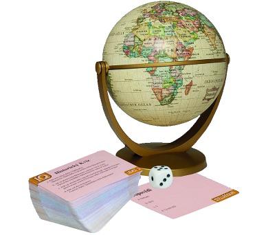 Historický globus s kvízem + DOPRAVA ZDARMA