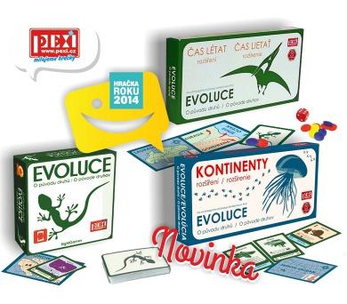 EVOLUCE-trilogie + DOPRAVA ZDARMA
