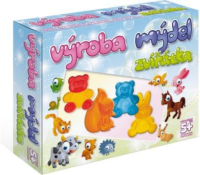 DetiArt Výroba mýdel - Zvířata