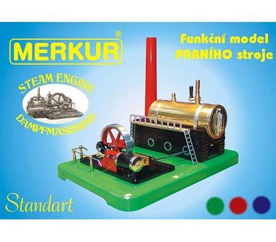 Parní stroj - funkční model + DOPRAVA ZDARMA