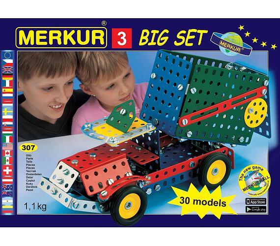 Merkur -Big set 3 + DOPRAVA ZDARMA