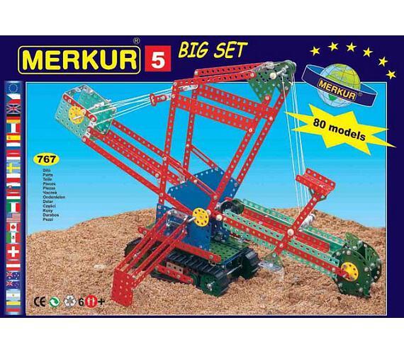 Merkur - Big set 5 + DOPRAVA ZDARMA