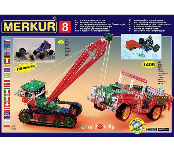 Merkur - Big set 8 + DOPRAVA ZDARMA