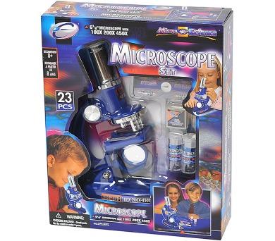 Mikroskop 100/200/450x + DOPRAVA ZDARMA