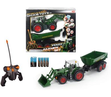 RC Traktor se lžící a vozíkem + DOPRAVA ZDARMA