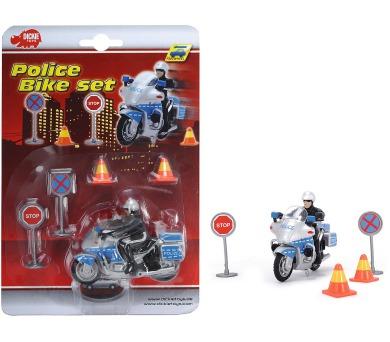 Policejní motorka 10 cm