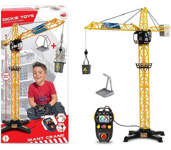 Dickie Jeřáb Giant Crane 100cm + DOPRAVA ZDARMA