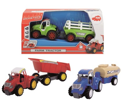 Traktor s přívěsem + DOPRAVA ZDARMA