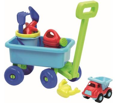 Vozík s konvičkou a setem na písek + DOPRAVA ZDARMA