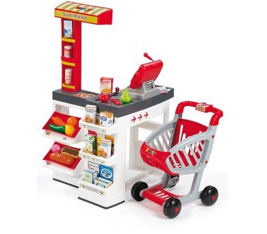Supermarket bíločervený + DOPRAVA ZDARMA