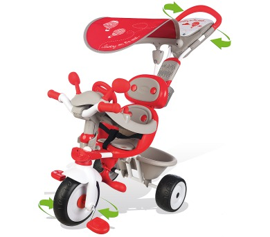 Tříkolka Baby Driver Confort + DOPRAVA ZDARMA