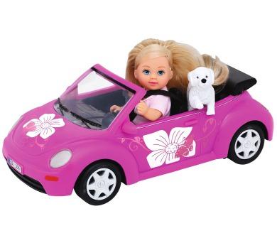 Panenka Evička s autem New Beetle + DOPRAVA ZDARMA