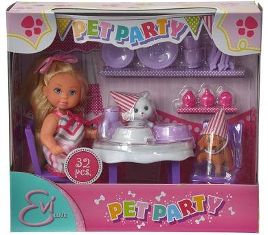 Panenka Evička party se zvířátky