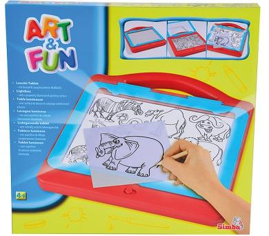 Art&Fun Kreslící světelná tabulka