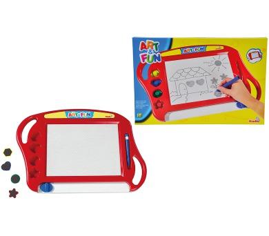 Magická magnetická tabulka červená + DOPRAVA ZDARMA