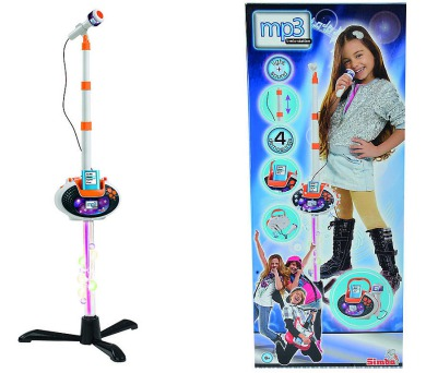 Mikrofon se stojanem 2 v1 i pro MP3 + DOPRAVA ZDARMA
