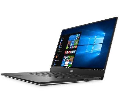 "DELL XPS 15 (9560)/ i7-7700HQ/ 8GB/ 256GB SSD/ nVidia GTX 1050 4GB/ 15.6"" FHD/ W10/ stříbrný/ 2YNBD on-site + DOPRAVA ZDARMA"