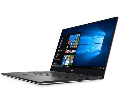 """DELL XPS 15 Touch/ i7-7700HQ/ 16GB/ 512GB SSD/ nVidia GTX 1050 4GB/ 15.6"""" UHD dotykový/ W10/ stříbrný/ 2YNBD on-site"""