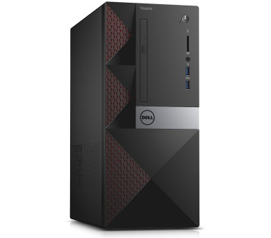 DELL Vostro 3668/ i5-7400/ 8GB/ 256GB SSD/ DVDRW/ Wifi/ čtečka/ W10Pro/ 3YNBD on-site