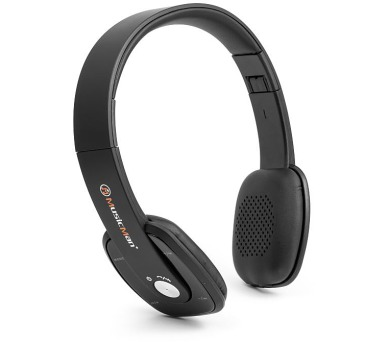 Technaxx Bluetooth uzavřená sluchátka + FM + Handsfree