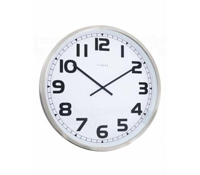 Fisura nástěnné hodiny Station White 60cm + DOPRAVA ZDARMA