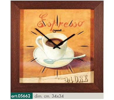 Originální nástěnné hodiny 05662 Lowell Prestige 34cm + DOPRAVA ZDARMA