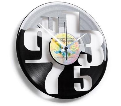 Designové nástěnné hodiny 055 Čísla 30cm + DOPRAVA ZDARMA