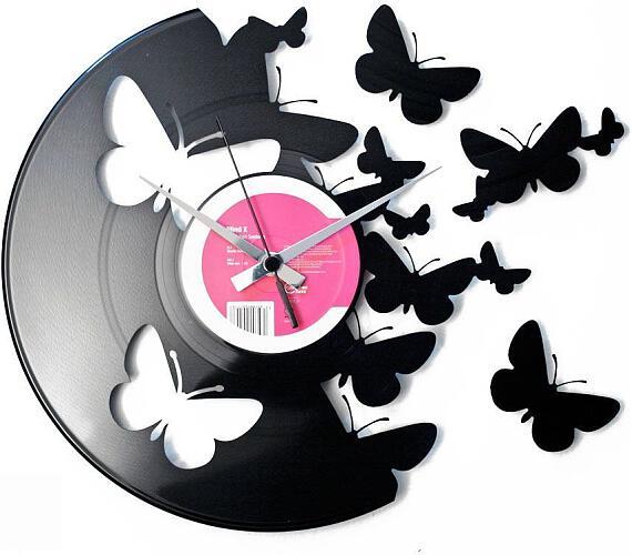 Discoclock 056 Motýli 30cm + DOPRAVA ZDARMA