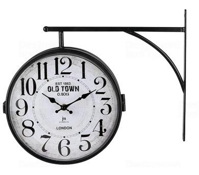 Oboustranné nástěnné hodiny 14756 Lowell 24cm + DOPRAVA ZDARMA