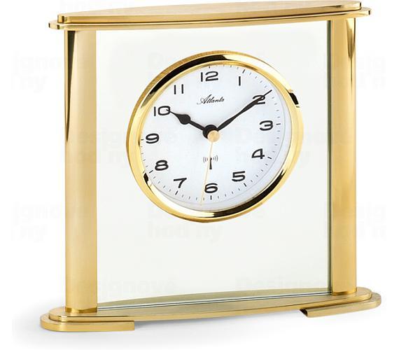 Designové stolní hodiny AT3092-9 řízené signálem DCF + DOPRAVA ZDARMA