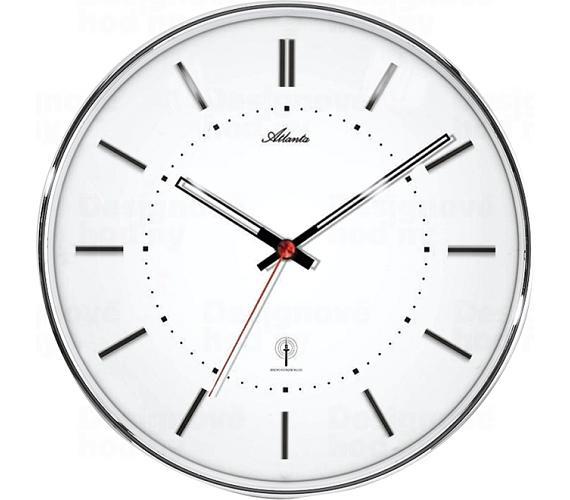 Designové nástěnné hodiny AT4296-19 řízené signálem DCF + DOPRAVA ZDARMA