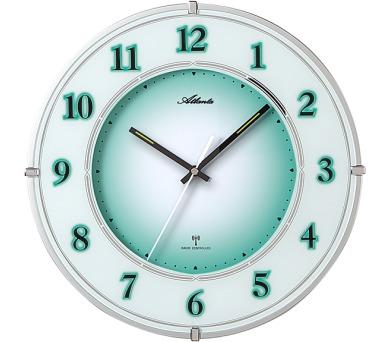 Nástěnné hodiny AT4299 s nočním automatickým LED podsvětlením řízené signálem DCF + DOPRAVA ZDARMA