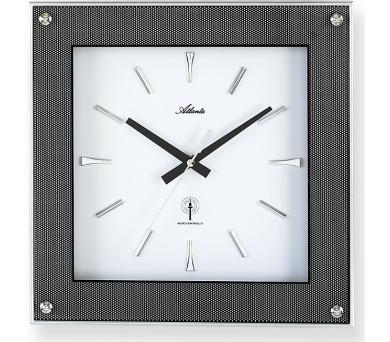 Designové nástěnné hodiny AT4391 řízené signálem DCF + DOPRAVA ZDARMA