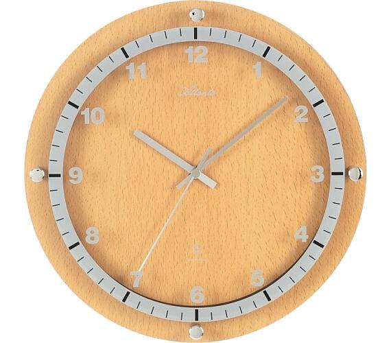 Designové nástěnné hodiny AT4284-30 řízené signálem DCF + DOPRAVA ZDARMA
