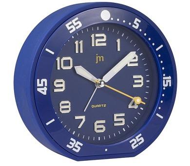 Designové stolní hodiny-budík JA6015L Lowell 13cm + DOPRAVA ZDARMA