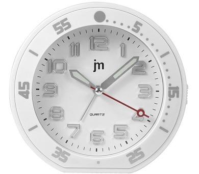Designové stolní hodiny-budík JA6015B Lowell 13cm + DOPRAVA ZDARMA