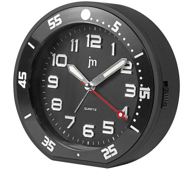 Designové stolní hodiny-budík JA6015N Lowell 13cm + DOPRAVA ZDARMA