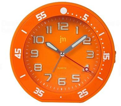 Designové stolní hodiny-budík JA6015O Lowell 13cm + DOPRAVA ZDARMA