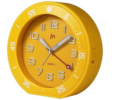 Designové stolní hodiny-budík JA6015Y Lowell 13cm + DOPRAVA ZDARMA