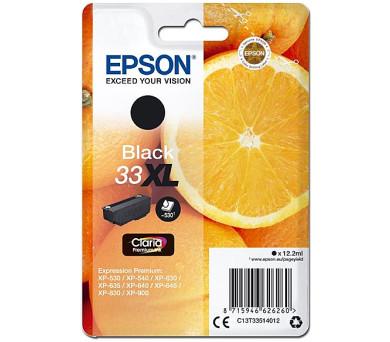 Epson Singlepack Black 33XL Claria Premium Ink (C13T33514012)