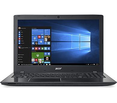 Acer Aspire E 15 15,6/i3-7100U/4G/256SSD/NV/Linux černý