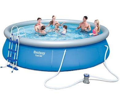 Bestway 57294 Samostavěcí bazén 457 x 107 cm s příslušenstvím + DOPRAVA ZDARMA