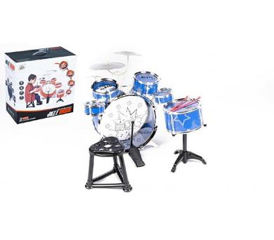 Bicí souprava/bubny 6ks plast v krabici 40x40x22cm + DOPRAVA ZDARMA