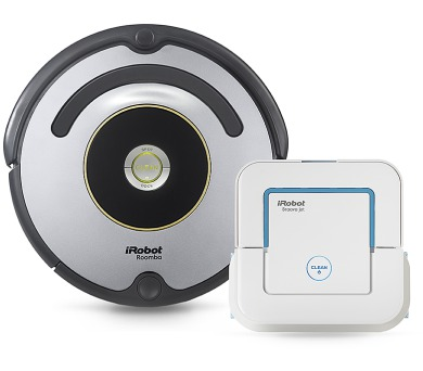 iRobot Roomba 616 + iRobot Braava Jet 240