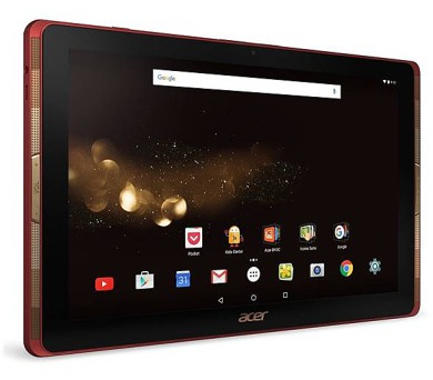 """Acer Iconia Tab 10 10.1""""/MT8163V/A/32GB/2GB/A6.0 červeno-černý + DOPRAVA ZDARMA"""