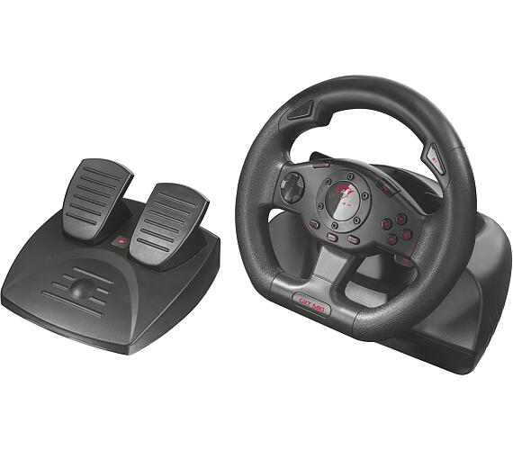 TRUST GXT 580 Vibration Feedback Racing Wheel + DOPRAVA ZDARMA