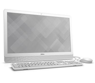 """Dell Inspiron 3464 AIO 24"""" FHD i3-7100U/4G/1TB/DVD/HDMI/W10/2RNBD/Bílý"""