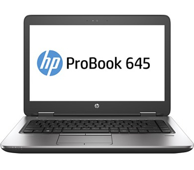 "HP ProBook 645 G3 14"" FHD/A10-8730B/4GB/500GB/DVD/VGA/DP/RJ45/WIFI/BT/MCR/FPR/1rServis/W10P + DOPRAVA ZDARMA"