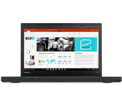 Lenovo Thinkpad L470 14HD/i5-7200U/4GB/500/Intel HD/W10P/ černý + DOPRAVA ZDARMA