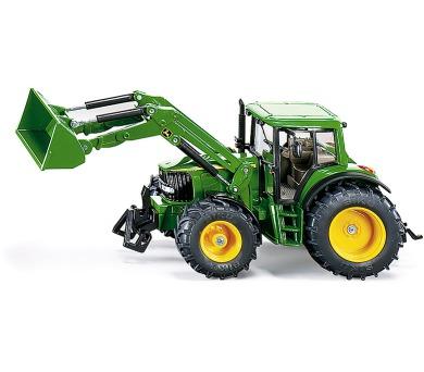 SIKU Farmer - Traktor John Deere s čelním nakladačem + DOPRAVA ZDARMA